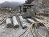 大块石头分解岩石劈裂机山东潍坊厂家地址