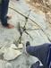 地基坚硬石头地基开挖小型分石劈石器3江西做品牌