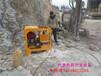石材厂石材矿山开采设备劈裂机衡阳施工案例