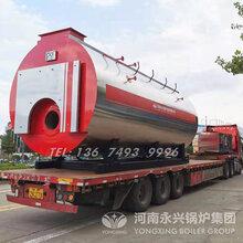 3吨低氮燃气蒸汽锅炉大炉膛三回程图片