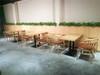 惠东县海鲜火锅时尚带孔餐桌椅到哪定做?餐饮家具厂家