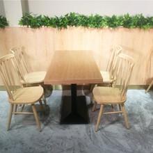 江城中式餐廳餐桌餐椅定做廠家,陽江餐飲家具廠家圖片