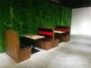 南寧創意餐廳特色卡座沙發定制,餐飲店卡座沙發廠