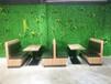 茂名牛肉飯餐廳卡座沙發廠家定做,茂南餐飲家具廠