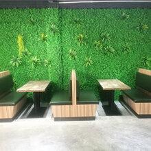 源城客家菜馆卡座沙发定做,源城卡座沙发厂家