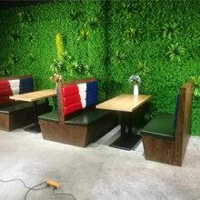 深圳客家菜馆高档特色餐桌餐椅定做,南山餐饮家具厂