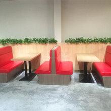 海口客家菜餐厅特色卡座沙发定制,海南餐饮家具厂家