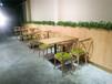 海珠小吃店特色鐵藝餐桌椅定做,廣州餐桌椅廠家