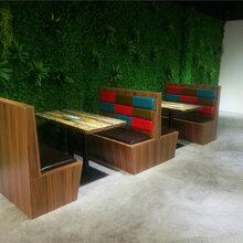 汕頭金平區火鍋餐廳卡座沙發定制,金平區卡座沙發廠家