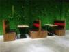 茂名石鍋魚烤魚餐廳復古卡座沙發圖片,茂南卡座沙發廠家