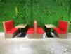 香港蛋糕店甜品店防火板板式卡座沙發定做,來圖定制