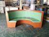 中山優質弧形卡座沙發定制,板式卡座沙發廠家