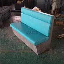 中山南頭優質板式卡座沙發定制,餐廳家具定制廠家