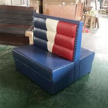 永欣云烤鱼店沙发,遂宁市烤鱼店卡座沙发图片