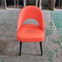 永欣云休闲餐椅,台州全新现代休闲软包餐椅图片