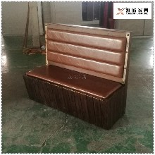 通化防腐木板卡座沙发,防腐木卡座图片