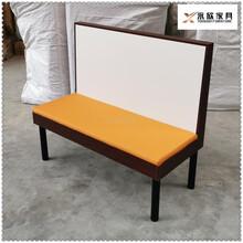 玉林钢木结构卡座沙发,钢木卡座沙发图片