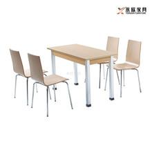 永欣云快餐桌椅,宁德市耐用钢木快餐桌椅造型美观图片