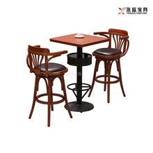 深圳酒吧家具定做罗湖区美式高脚吧桌椅图片