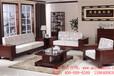 青島實木家具工廠直銷百年中式沙發品質608#黃菠蘿木沙發