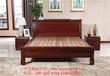 苏州木言木语中式实木床古色古香上等黄菠萝木环保水性漆1.8米药木床