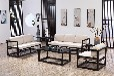 苏州木言木语实木沙发客厅沙发组合黄菠萝木沙发现代新中式组合定制