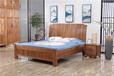 湖州木言木語中式風格大氣實木床新中式簡約實木雙人床