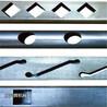不銹鋼管鍍鋅鋼護欄沖孔機方管打孔槽鋼角鐵開孔沖床