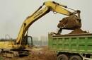 北京市工程建渣清運,綠化用土垃圾清運圖片