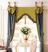 頂派窗簾用西裝工藝做窗簾