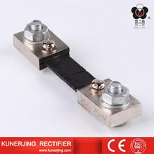 昆二晶FL-2型150A200A75mVA級直流分流器0.5級電流表外附圖片