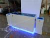 指紋鎖展示柜智能電子鎖樣品柜店鋪高柜密碼鎖立式展柜可開門背柜