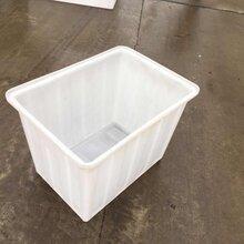 200L牛筋水箱熟胶方形加厚方箱大号塑料桶户外养鱼水桶食品级方盆直销
