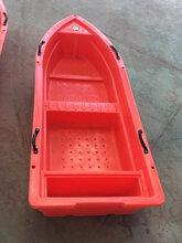 2.5米冲锋舟渔船双人船保洁观光船捕鱼小船