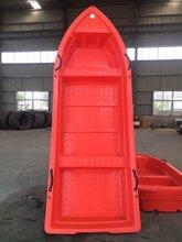 3.2米冲锋舟pe塑胶船双人船加厚牛筋船