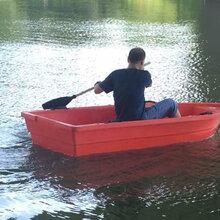 2.5米冲锋舟塑料船双层牛筋船湖北黄冈
