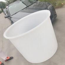 食品级塑料圆桶500-800L加厚牛筋桶皮蛋桶腌制桶