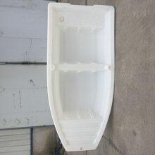 加厚塑料船渔船牛津船双层2.6米钓鱼船下网船