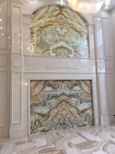 佛山品牌凱莎恩迪電視背景墻沙發背景墻床頭背景墻別墅背景墻大型壁畫,圖片
