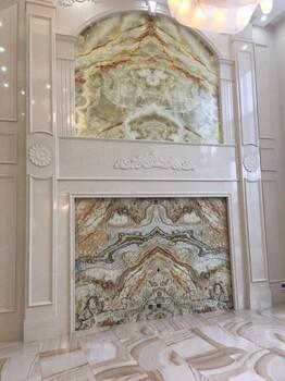 品牌凯莎恩迪电视背景墙罗马柱厂家别墅家装背景墙罗马柱