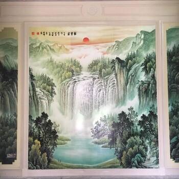 电视背景墙厂家电视墙装修罗马柱石材背景墙别墅背景墙图电视墙装修