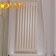 鋼制柱形暖氣片AQFGZ203鋼制圓二柱型散熱器廠家直銷