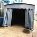 金华订做移动伸缩雨棚大排档活动雨篷推拉式防雨蓬实力厂家