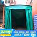廠家直銷活動推拉倉儲棚戶外移動伸縮推拉防雨遮陽雨棚性價比市場