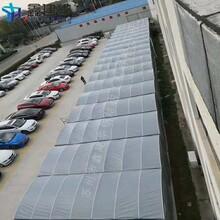 上海户外仓储篷房价格,大型仓库棚图片