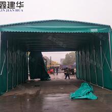 天津物流仓储篷房图片,大型仓库棚图片