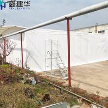 鑫建华电动伸缩雨棚厂家,上海折叠伸缩雨棚厂家批发图片