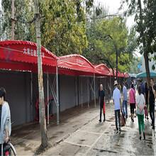 鑫建华伸缩式移动遮阳棚,上海折叠伸缩雨棚尺寸定做图片