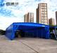 北京膜結構推拉雨棚價格,伸縮推拉棚定做