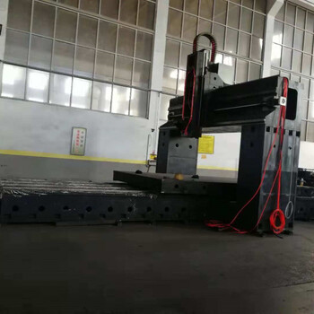 5米數控龍門銑床河北大恒龍門銑床生產廠家品質好信譽高服務好